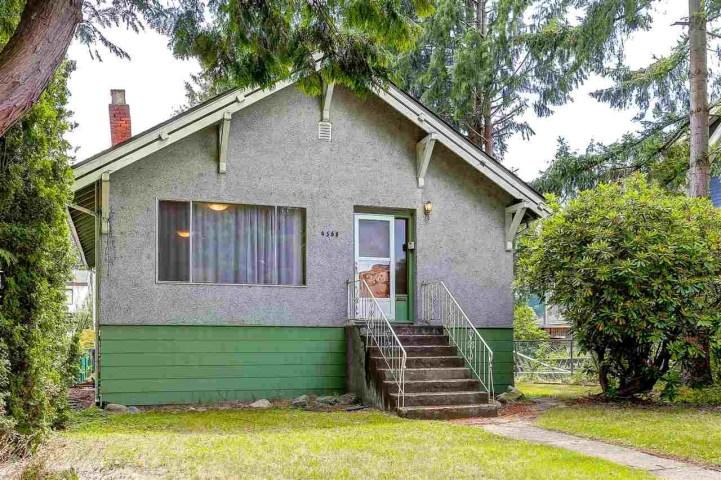 4685 West 8 Avenue Vancouver BC - Exterior
