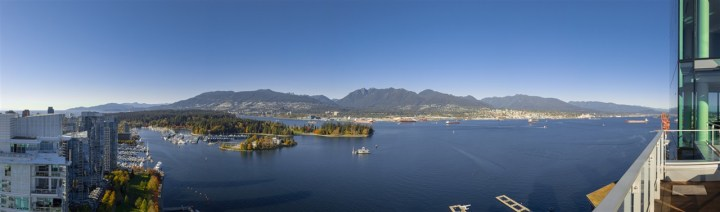 3101 - 277 Thurlow Street, Vancouver, BC - View of Cole Harbour