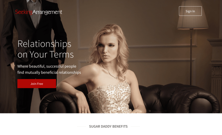 "1 In 10 Canadian Students Are Seeking ""Sugar Daddies"" To Help Pay The Bills - Screenshot"