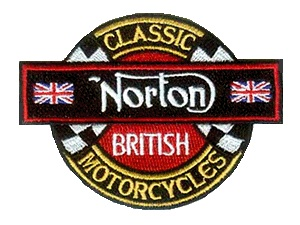 Norton motorcycles badge