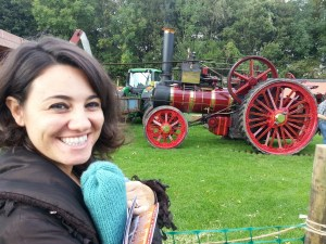 Mariacristina at the Weald & Downland open air museum