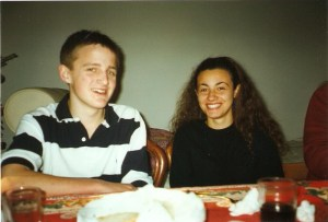 Young George and Mariacristina