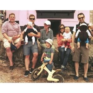 Family in Devon