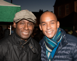 David Harewood and Chuka Umunna