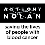 Anthony Nolan: saving the lives of people with blood cancer (black and white)