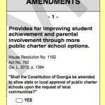 Better Georgia schools, charters and the November ballot