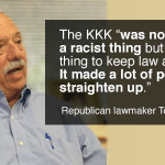 House ethics chair backs off KKK defender's legislation while Speaker Ralston remains silent