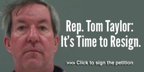 tom taylor resign