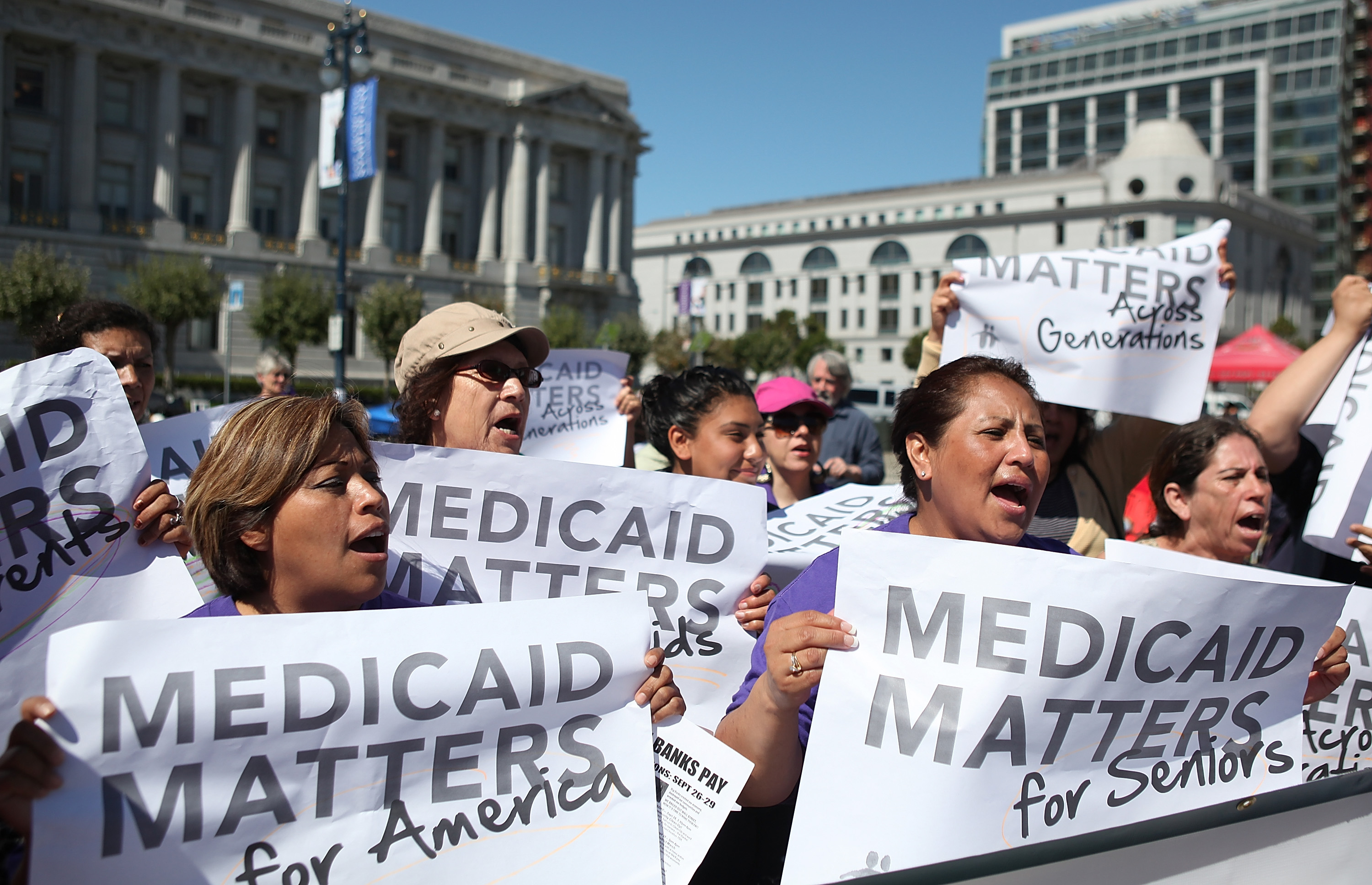 Image result for GOP Medicaid Block Grants Cut Costs … and Care