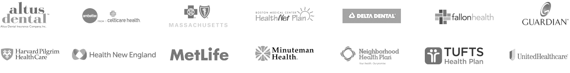 Fourteen Health and Dental Plan Carrier Logos