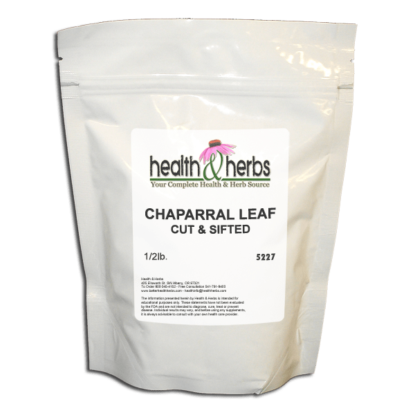 Chaparral Leaf Cut & Sifted
