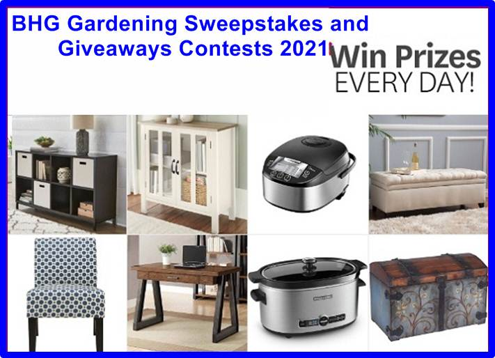BHG Gardening Daily Sweepstakes