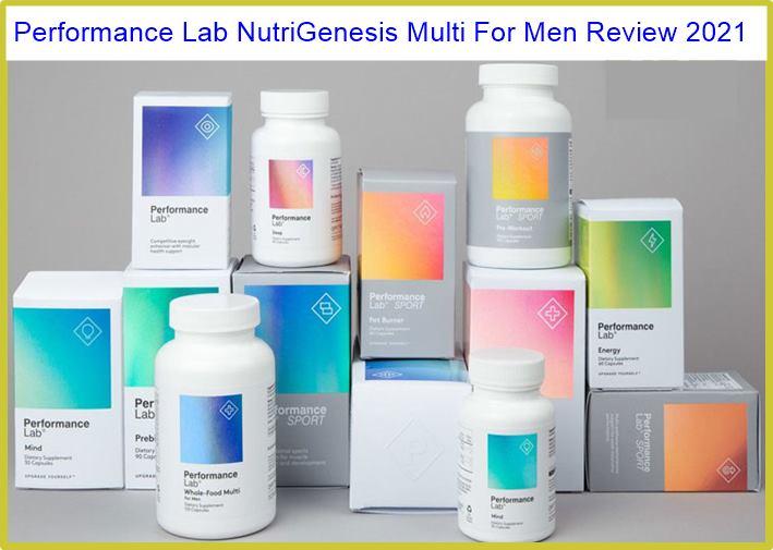NutriGenesis Multi For Men