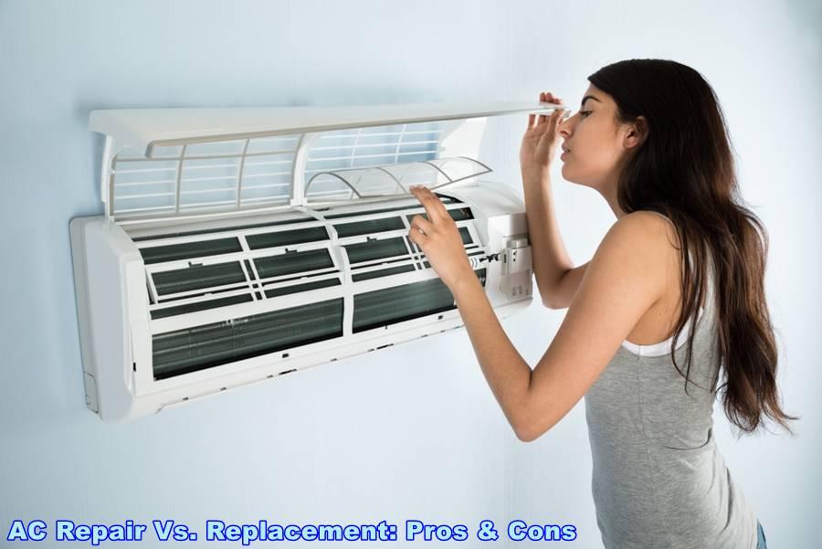 AC Repair Vs. Replacement: Pros & Cons
