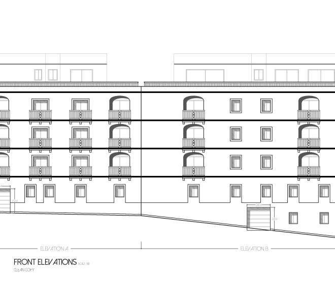 Front Elevations Not To scale