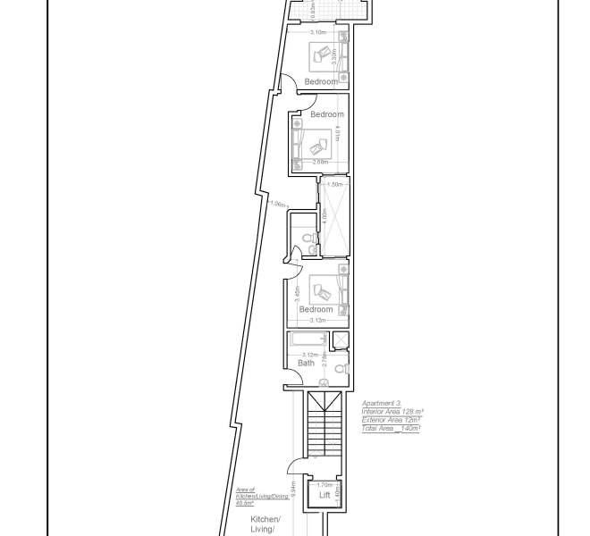 a3 apartment