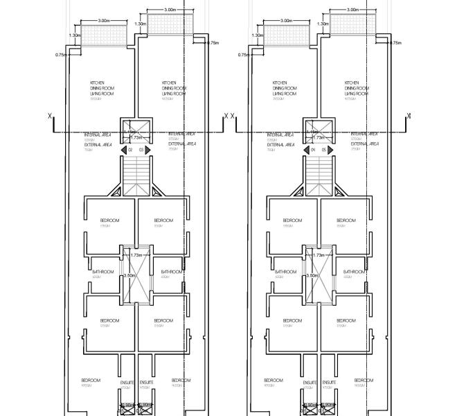 proposed First and second floor level plan-page-001