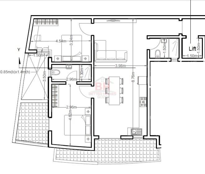 apt third floor