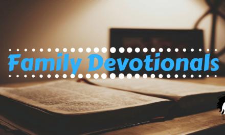 Devotion to Family Devotionals