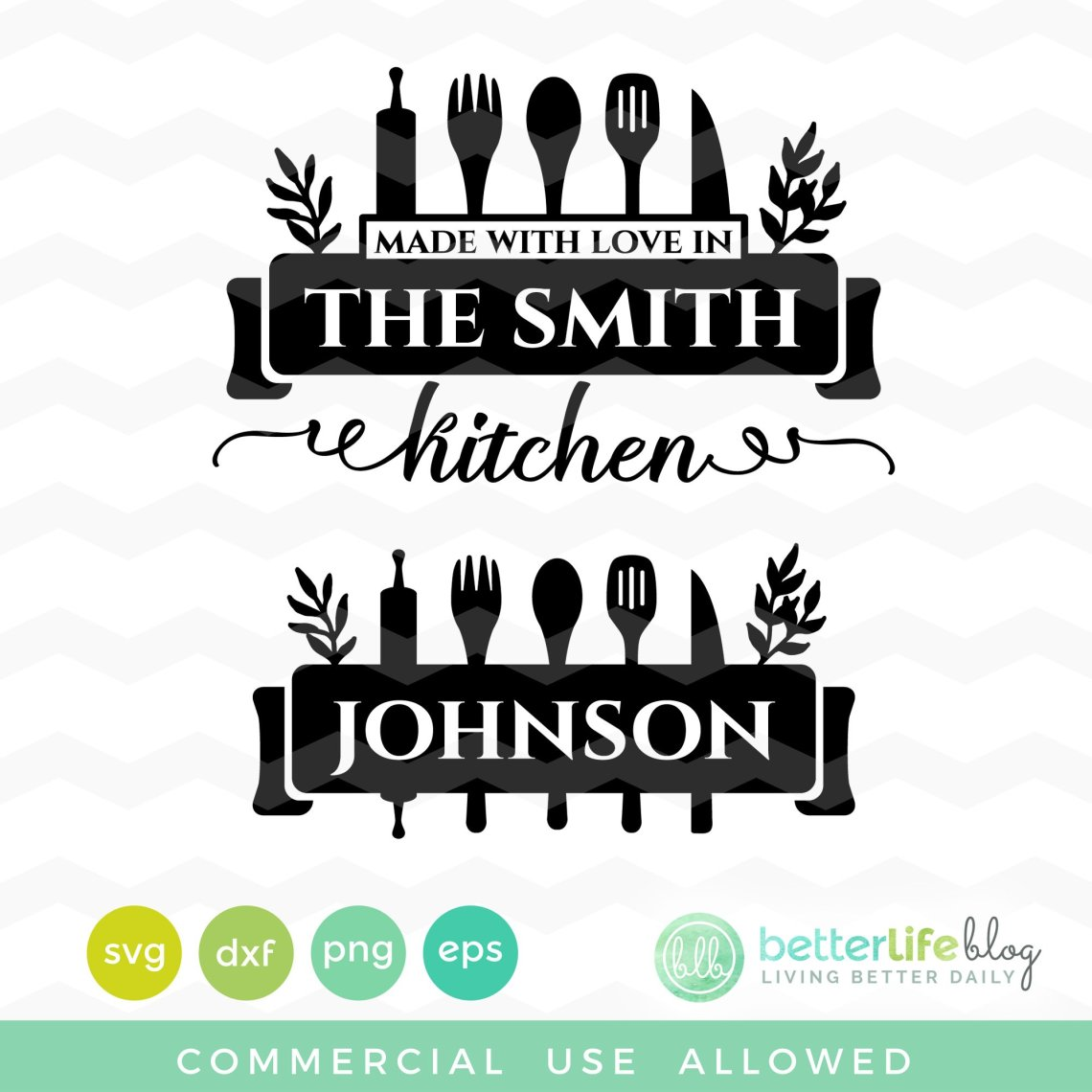 Download Kitchen Made with Love SVG - Better Life Blog