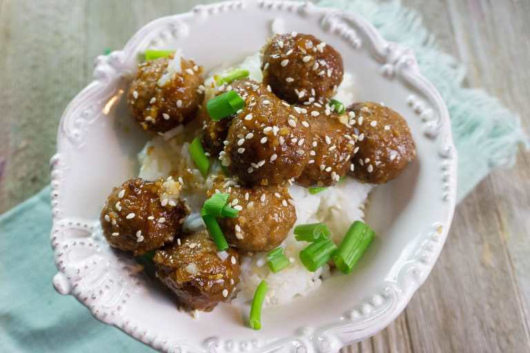 These Orange Asian Beef Meatballs are oh-so-delish and completely made in the Instant Pot!