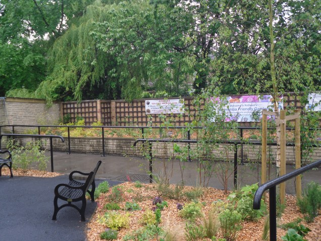 Leeds' first memory garden in Rothwell
