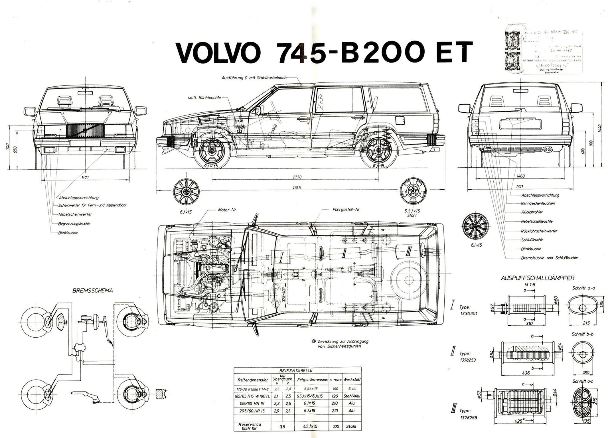 Volvo 745 Technical Details History Photos On Better