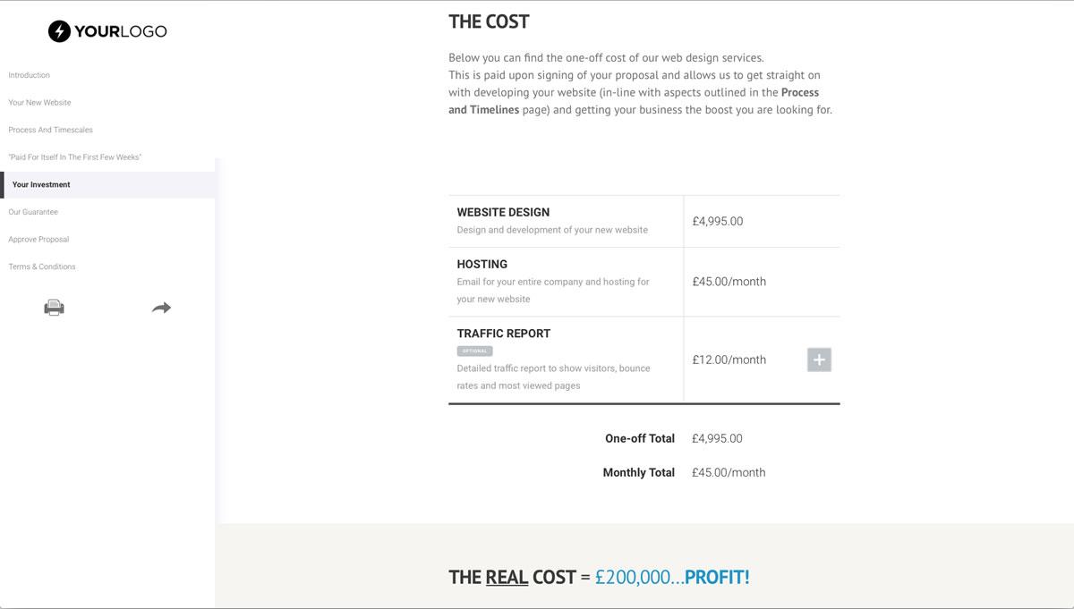 This Free Wordpress Website Design Proposal Template Won