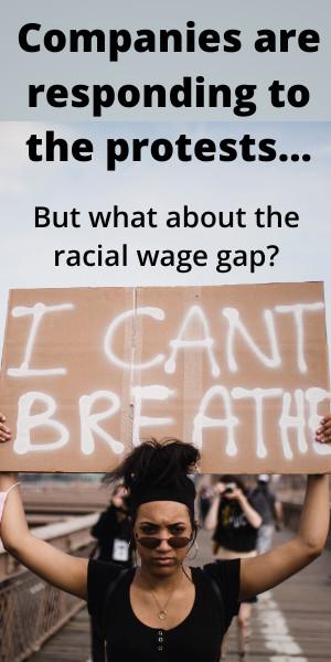 Companies need to close the racial wage gap.