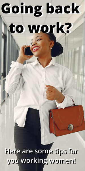 Women returning to work.