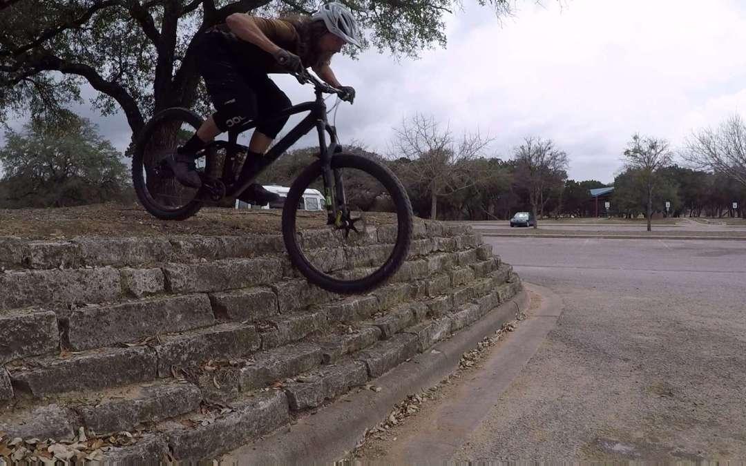 Mountain Bike Steep Rock Rolls, Video Tutorial