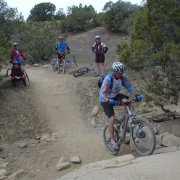 mountain bike rocks