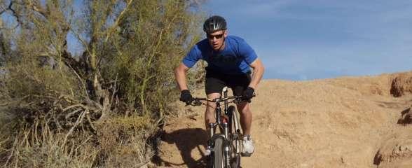 Rail a Corner on your mountain bike
