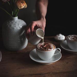 Chai latte, Brain blend og Purple latte
