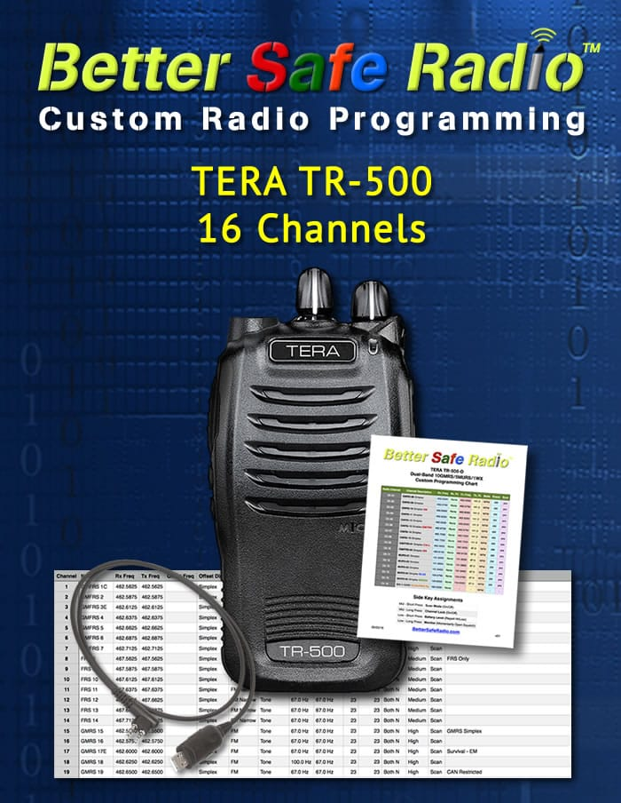 BSR-PRG9DP Custom Radio Programming for Wouxun KG-UV9DP