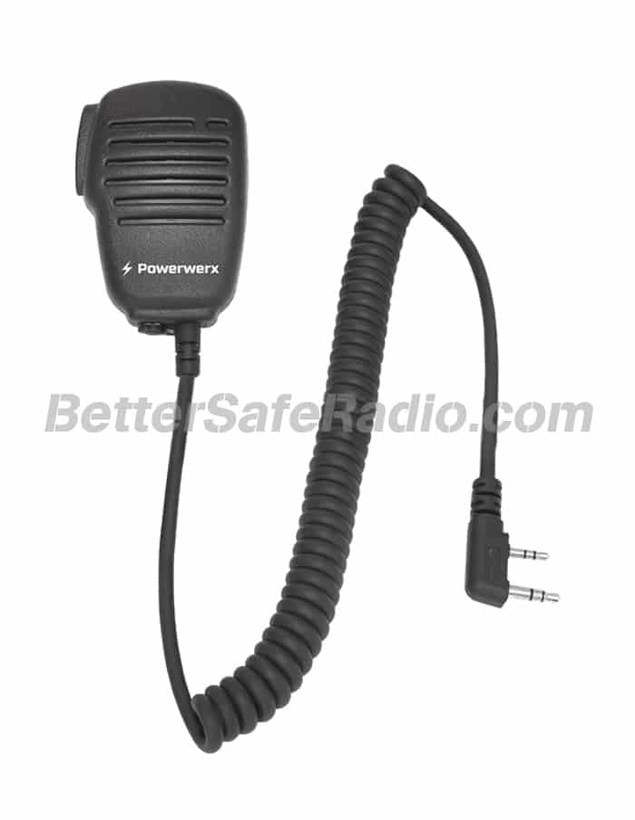 Powerwerx WXSPK Compact Lightweight Speaker Microphone