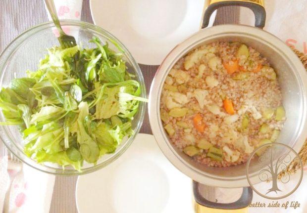buckwheat porridge lunch