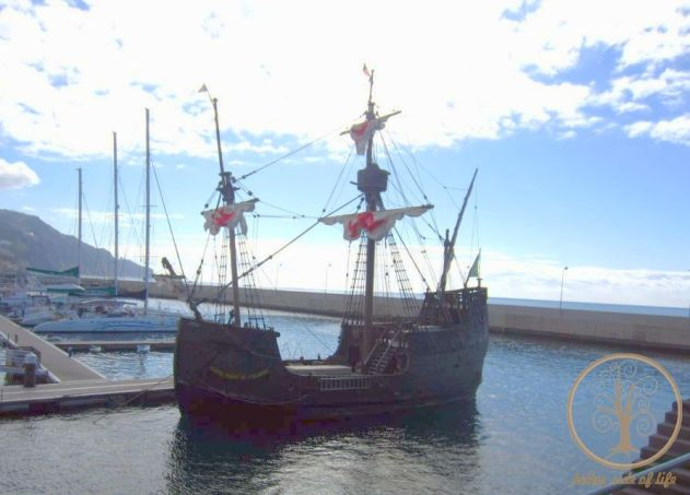 replica_columbus ship madeira