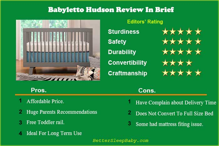 Babyletto Hudson Crib Reviews