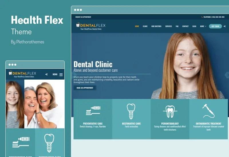 Health Flex Theme - Doctor Medical Clinic & Health WordPress Theme