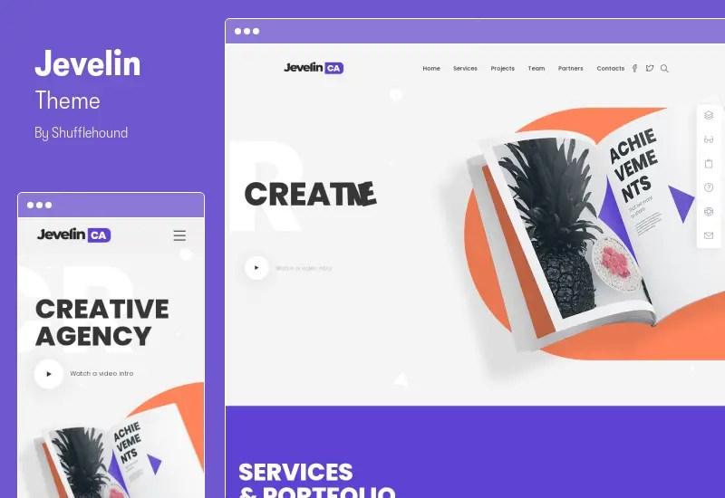 Jevelin Theme - Multi-Purpose Responsive WordPress AMP Theme