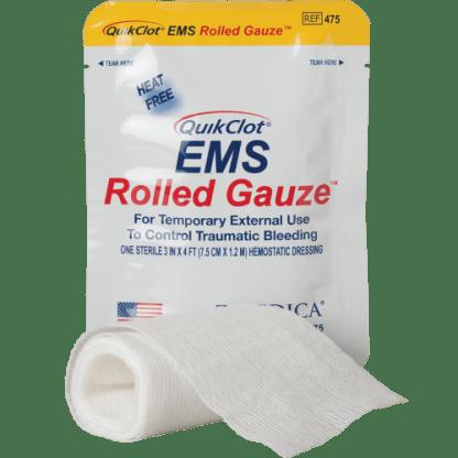 QuikClot EMS Rolled Gauze-front
