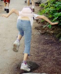 falling while running