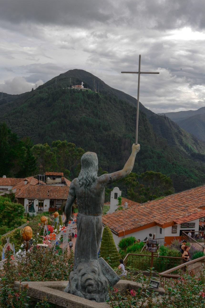travel in bogota colombia Monserrate