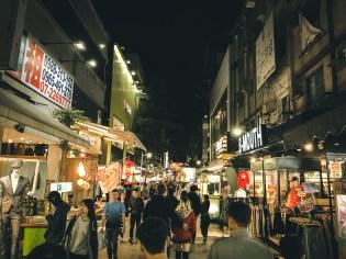 Night market- Shinkuchan Shopping District 新崛江