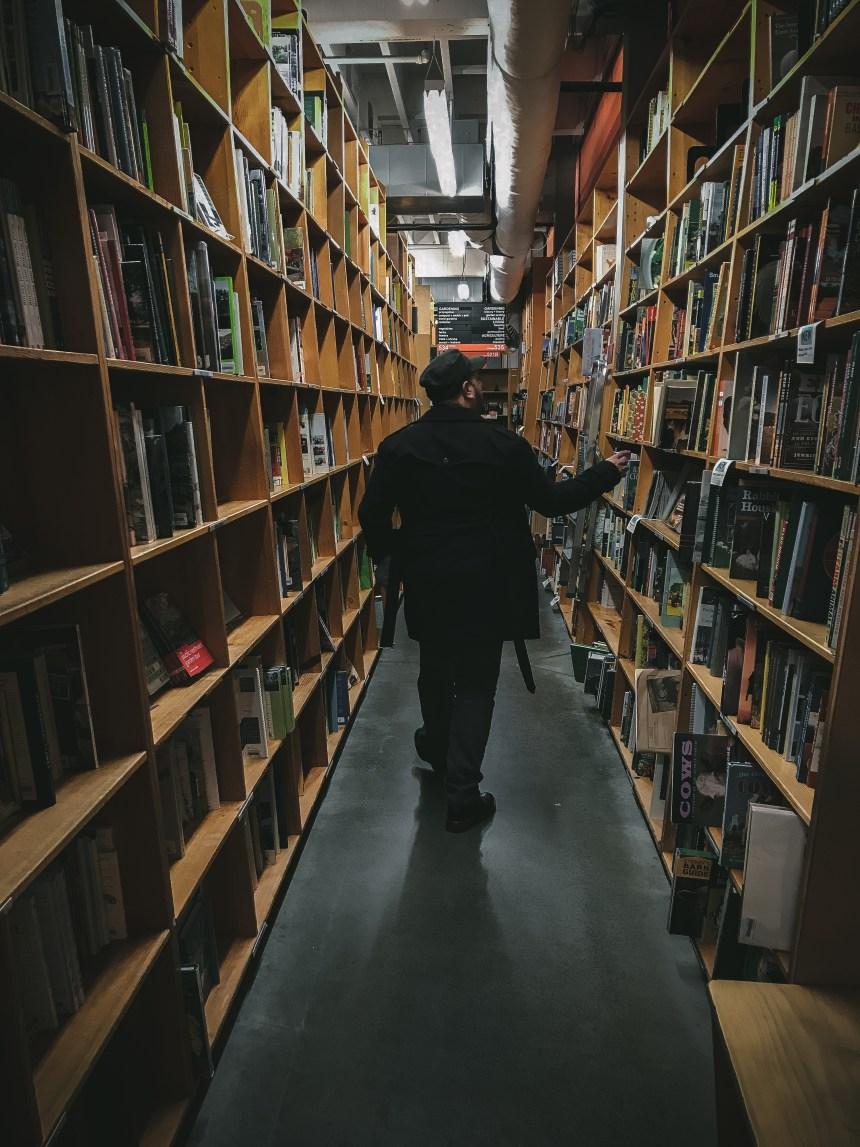 Powell bookstore in Portland Oregon