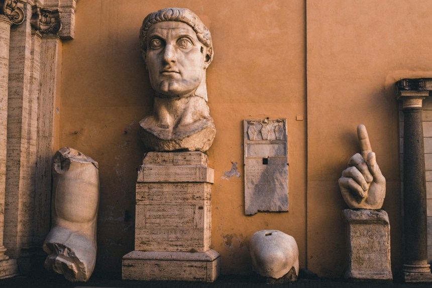 museum of Rome Capitoline Museums Musei Capitolini must see in Rome Canstantine the great statue Rome trip guide