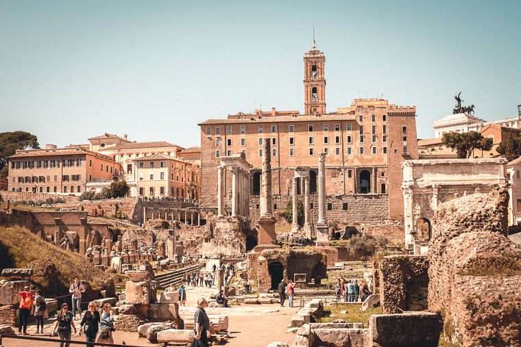Roman Forum ultimate Rome trip guide-most photogenic places in Rome