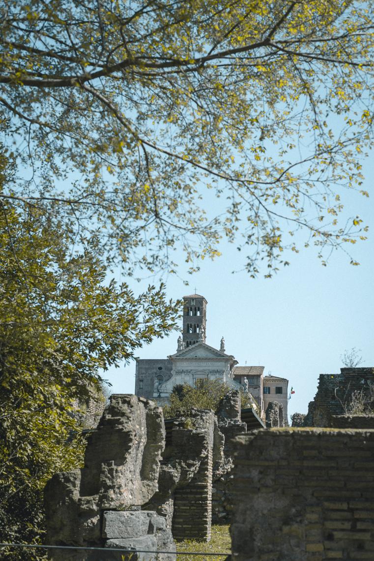 Roman Forum ruins of Rome