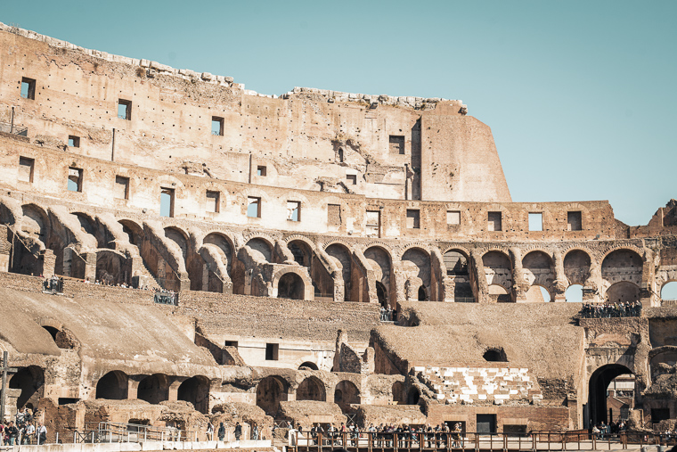 Colosseum The ultimate Rome trip itinerary